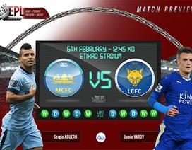 Man City - Leicester City: Cuộc chiến vì ngôi đầu
