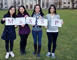 4 nữ DHS Mỹ kiến tạo trại hè Khoa học miễn phí cho học sinh cấp 3 Việt Nam
