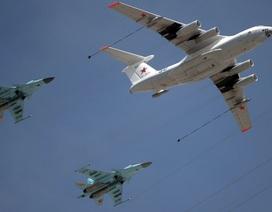 Máy bay chiến đấu Nga và Mỹ lại đối đầu