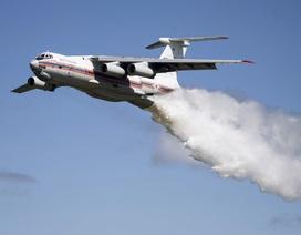 Máy bay Nga chở 10 người mất tích khi chữa cháy rừng