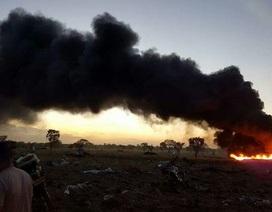 Rơi máy bay chở hàng Colombia, chỉ 1 người sống sót