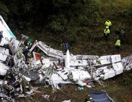 Máy bay chở đội bóng Bazil rơi do hết nhiên liệu và quá tải