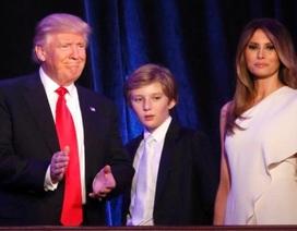 Phu nhân Tổng thống đắc cử Trump chưa muốn chuyển vào Nhà Trắng