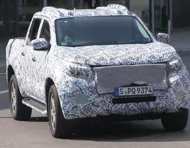 Xe bán tải Mercedes-Benz GLT tái xuất trên đường chạy thử
