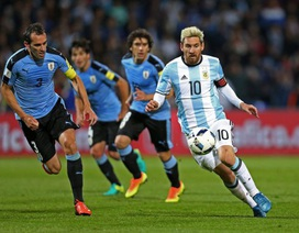 Messi ghi bàn, Argentina đánh bại Uruguay để dẫn đầu vòng loại