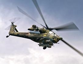 Trực thăng tấn công của Nga bị rơi ở Syria, 2 phi công thiệt mạng
