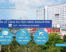 Cơ hội cuối cùng 2016 nhận học bổng 66 triệu từ MDIS, Singapore