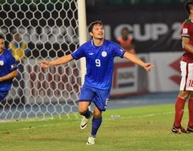 Indonesia đánh rơi chiến thắng trước Philippines