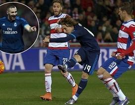 Modric toả sáng, Real Madrid giành 3 điểm nhọc nhằn trước Granada