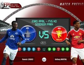 Everton - Man Utd: Trước ngưỡng của thiên đường