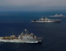 Mỹ sẽ đưa thêm tàu tấn công đổ bộ đến châu Á-Thái Bình Dương