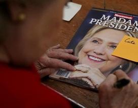 Báo Mỹ trót phát hành 125.000 ấn bản in bìa Clinton đắc cử