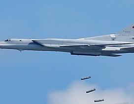Máy bay Nga san phẳng trung tâm chỉ huy và kho vũ khí của IS ở Syria