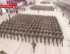 Nga diễn tập duyệt binh mừng Ngày Chiến Thắng