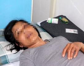 Con trai đánh người tình của cha nhập viện