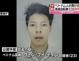 Nhật Bản truy tìm người Việt nghi trộm 47 xe đạp đắt tiền