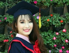 Hoa khôi sinh viên Hà Nội 2014 khoe sắc trong ảnh kỷ yếu