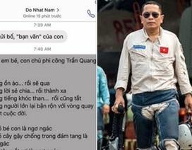Rơi nước mắt bài thơ Đỗ Nhật Nam tặng con gái phi công Trần Quang Khải