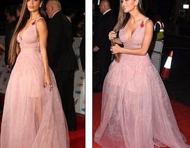 Ca sỹ Mỹ đẹp như công chúa với váy voan hồng