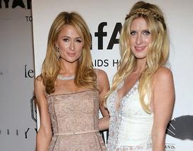 Paris Hilton đưa em gái bầu bí dự tiệc