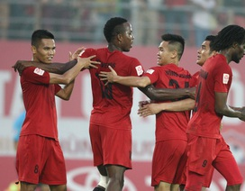 Đánh bại SL Nghệ An, Hải Phòng vẫn ngậm ngùi về nhì ở V-League 2016