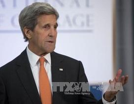 """Ngoại trưởng Kerry: Việt Nam cởi mở """"phi thường"""" sau chiến tranh"""