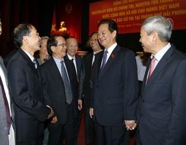 Nguyên Thủ tướng Nguyễn Tấn Dũng chia tay cử tri thành phố Hải Phòng