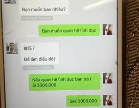 Môi giới mại dâm cho người nước ngoài nhờ… công nghệ