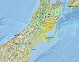 Sóng thần tấn công New Zealand sau động đất mạnh