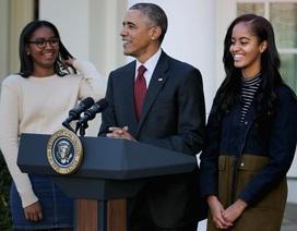 Tổng thống Obama đã nói gì với các con ngay khi ông Trump đắc cử?