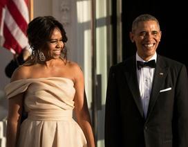 Bà Obama thổ lộ vẫn rung động vì sự bảnh bao của chồng