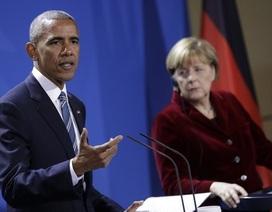 """Tổng thống Obama kêu gọi ông Trump """"rắn"""" với Nga"""
