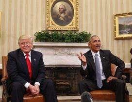 Tổng thống Obama sẵn sàng góp ý về nhiệm kỳ của ông Trump với tư cách công dân