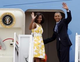 Những điều thú vị khi Obama công du nước ngoài