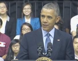 """Tổng thống Obama """"bật mí"""" con đường trở thành lãnh đạo Mỹ với bạn trẻ Việt"""