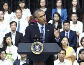 Tổng thống Obama chia sẻ chuyện đời tư với giới trẻ Việt