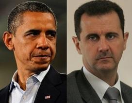 Ông Obama bác bỏ kế hoạch lật đổ Tổng thống Syria của CIA