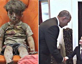 """Tổng thống Obama gặp cậu bé viết thư nhận nuôi """"em bé Syria"""""""