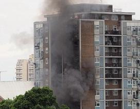 Cháy tòa nhà chung cư 16 tầng ở London