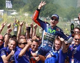 Chiến thắng đầy cảm xúc của Jorge Lorenzo