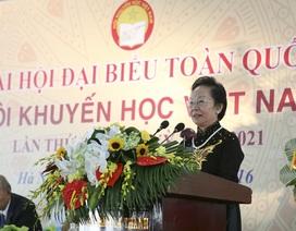 Nguyên Phó Chủ tịch nước Nguyễn Thị Doan làm Chủ tịch Hội Khuyến học Việt Nam khóa V