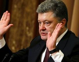 """""""Tổng thống Ukraine Poroshenko sẵn sàng nhượng bộ về Donbass"""""""