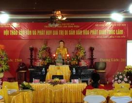 ĐH Quốc gia Hà Nội đào tạo tiến sĩ Phật học