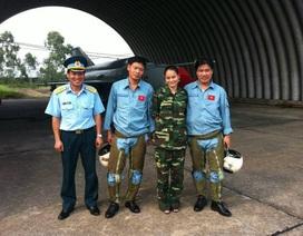 Một phi công trên chiếc SU-30 được ngư dân cứu sống