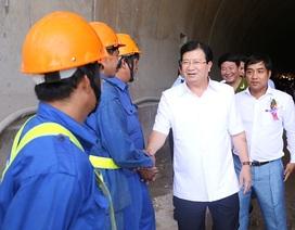 Phó Thủ tướng: Thông hầm Đèo Cả, người dân phải được hưởng lợi nhiều nhất