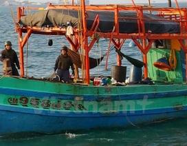 Cảnh sát biển Thái Lan bắt giữ 4 tàu cá và 20 ngư dân Việt Nam