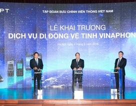 VNPT Vinaphone khai trương dịch vụ di động vệ tinh VinaPhone-S