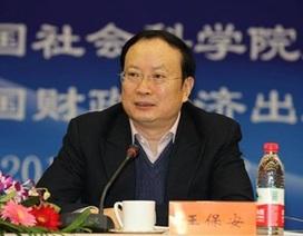 Cục trưởng Thống kê Trung Quốc bị bắt như phim trinh thám