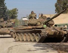 Quân đội Syria phá nát nhiều trung tâm chỉ huy của IS ở khắp Dara'a