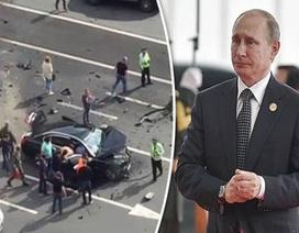 Tổng thống Nga Putin không lên chiếc xe BMW gặp tai nạn thảm khốc